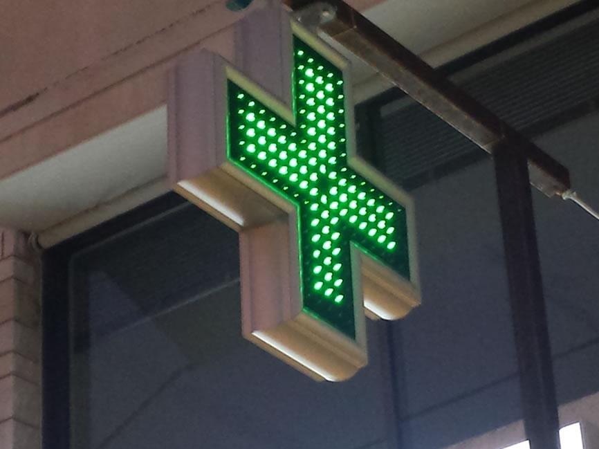 Σήμα Φαρμακείου LED